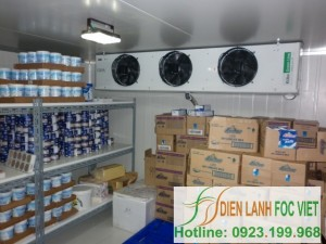 Execution Design and installation of milk cold storage