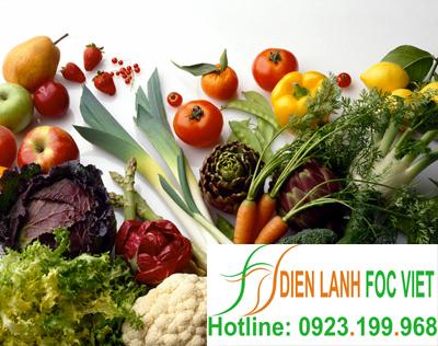 bảo quản rau củ quả
