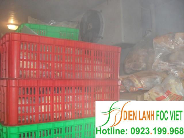 kho lạnh bảo quản thực phẩm