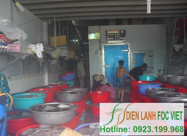 lắp đặt kho lạnh hải sản