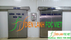 Lắp đặt kho lạnh bảo quản thực phẩm tại Quảng Nam