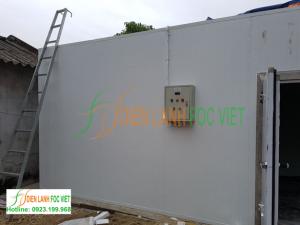 Thi công kho lạnh bảo quản hoa tại Bắc Giang