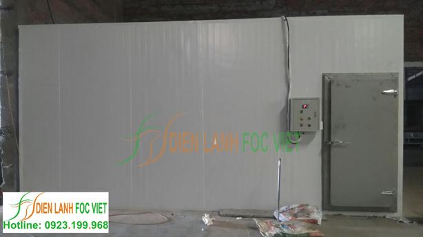 Foc Việt hoàn thành việc lắp đặt kho lạnh bảo quản chế phẩm sinh học đưa vào sử dụng.