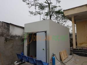 Lắp đặt hệ kho lạnh bảo quản rác thải y tế tỉnh Phú Thọ
