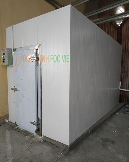 kho lạnh bảo quản rác thải y tế
