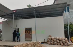 Lắp đặt kho lạnh trữ nông sản sau thu hoạch