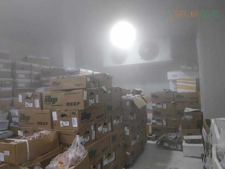 Lắp đặt kho lạnh bảo quản thực phẩm tết bảo quản thịt đông lạnh, bảo quản nông sản, trái cây nhập khẩu
